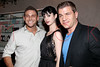 "NEW YORK, NY - AUGUST 15:  Chris Nirschel, Krysten Ritter and Tom Murro attend the special screening of ""Life Happens"" after party at the Gramercy Terrace at The Gramercy Park Hotel on August 15, 2011 in New York City.  (Photo by Steve Mack/S.D. Mack Pictures) *** Local Caption *** Chris Nirschel; Krysten Ritter; Tom Murro"