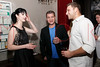 "NEW YORK, NY - AUGUST 15:  Krysten Ritter, Tom Murro and Chris Nirschel attend the special screening of ""Life Happens"" after party at the Gramercy Terrace at The Gramercy Park Hotel on August 15, 2011 in New York City.  (Photo by Steve Mack/S.D. Mack Pictures) *** Local Caption *** Krysten Ritter; Tom Murro; Chris Nirschel"