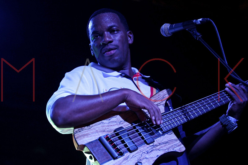 NEW YORK, NY - AUGUST 20:  Bass player Ryan Wilson performs at Brooklyn Bowl on August 20, 2011 in New York City.  (Photo by Steve Mack/S.D. Mack Pictures) *** Local Caption *** Ryan Wilson