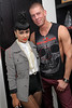 NEW YORK, NY - AUGUST 14:  Natalia Kills and Dougie Meyer back stage at Splash NYC on August 14, 2011 in New York City.  (Photo by Steve Mack/S.D. Mack Pictures) *** Local Caption *** Natalia Kills; Dougie Meyer