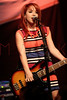 NEW YORK, NY - AUGUST 05:  Carly Kalafus of The Kicking Daisies performs onstage at Radio Disney's Birthday Jam at the Hard Rock Cafe - Times Square on August 5, 2011 in New York City.  (Photo by Steve Mack/S.D. Mack Pictures) *** Local Caption *** Carly Kalafus
