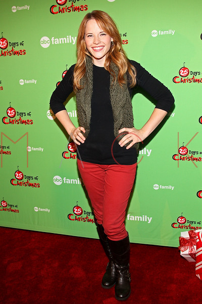 NEW YORK, NY - DECEMBER 04:  Katie Leclerc attends the 2011 ABC Family 25 Days of Christmas Winter Wonderland event at Rockefeller Center on December 4, 2011 in New York City.  (Photo by Steve Mack/S.D. Mack Pictures)