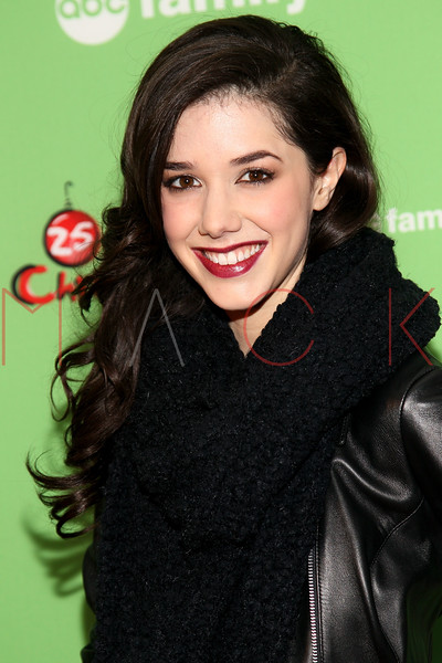 NEW YORK, NY - DECEMBER 04:  Erica Dasher attends the 2011 ABC Family 25 Days of Christmas Winter Wonderland event at Rockefeller Center on December 4, 2011 in New York City.  (Photo by Steve Mack/S.D. Mack Pictures)