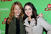 NEW YORK, NY - DECEMBER 04:  Katie Leclerc and Vanessa Marano attend the 2011 ABC Family 25 Days of Christmas Winter Wonderland event at Rockefeller Center on December 4, 2011 in New York City.  (Photo by Steve Mack/S.D. Mack Pictures)