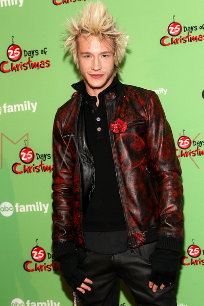 NEW YORK, NY - DECEMBER 04:  Nick Roux attends the 2011 ABC Family 25 Days of Christmas Winter Wonderland event at Rockefeller Center on December 4, 2011 in New York City.  (Photo by Steve Mack/S.D. Mack Pictures)