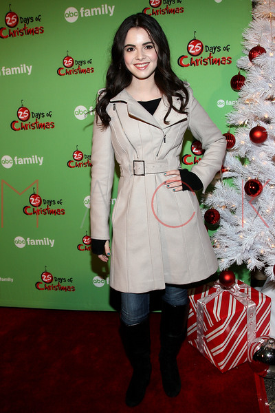 NEW YORK, NY - DECEMBER 04:  Vanessa Marano attends the 2011 ABC Family 25 Days of Christmas Winter Wonderland event at Rockefeller Center on December 4, 2011 in New York City.  (Photo by Steve Mack/S.D. Mack Pictures)