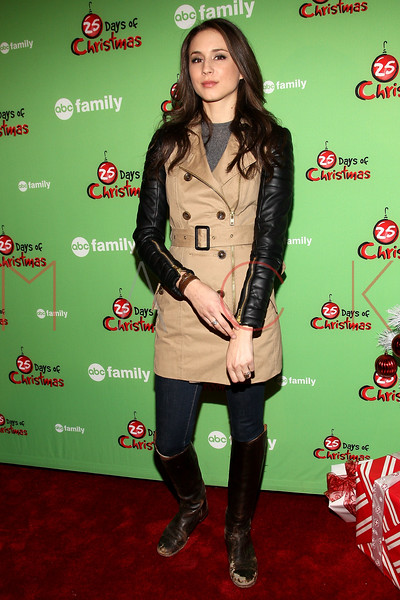 NEW YORK, NY - DECEMBER 04:  Troian Bellisario attends the 2011 ABC Family 25 Days of Christmas Winter Wonderland event at Rockefeller Center on December 4, 2011 in New York City.  (Photo by Steve Mack/S.D. Mack Pictures)