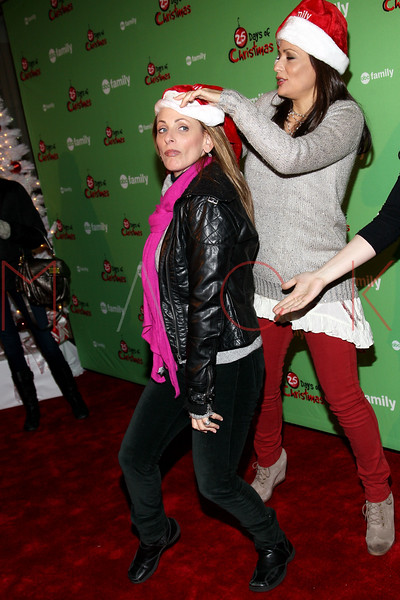 NEW YORK, NY - DECEMBER 04:  Marlee Matlin and Constance Marie attend the 2011 ABC Family 25 Days of Christmas Winter Wonderland event at Rockefeller Center on December 4, 2011 in New York City.  (Photo by Steve Mack/S.D. Mack Pictures)