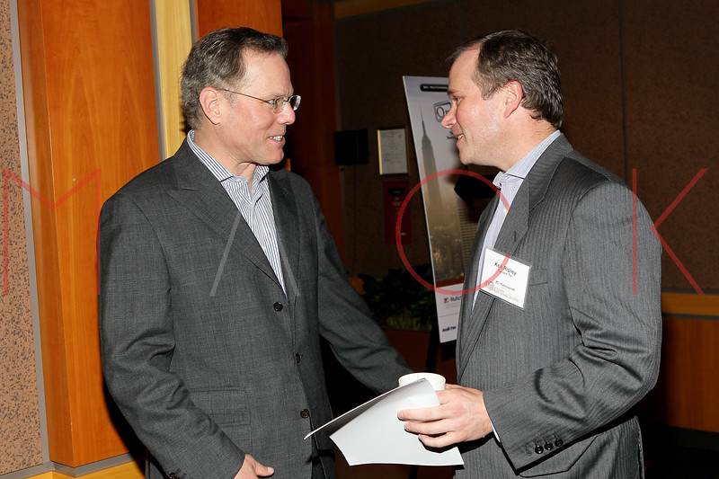 NEW YORK, NY - DECEMBER 01:  President and CEO Discovery Communications David Zaslav (L) attends the 2011 Fourth Annual OnScreen Media summit at Sentry East Side Conference Facility on December 1, 2011 in New York City.  (Photo by Steve Mack/S.D. Mack Pictures)