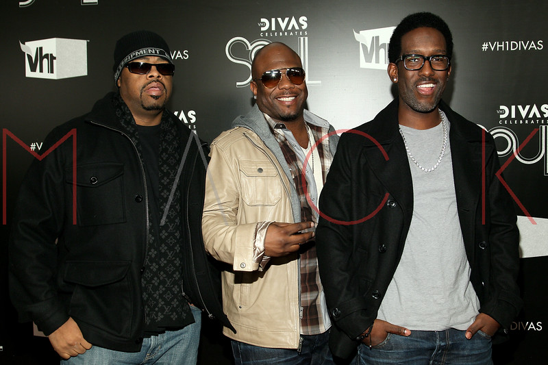 NEW YORK, NY - DECEMBER 18:  Shawn Stockman, Wanya Morris and Nathan Morris of Boys to Men attend 2011 VH1 Divas Celebrates Soul at the Hammerstein Ballroom on December 18, 2011 in New York City.  (Photo by Steve Mack/S.D. Mack Pictures)