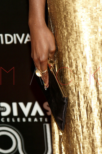 NEW YORK, NY - DECEMBER 18:  Estelle (purse detail) attends 2011 VH1 Divas Celebrates Soul at the Hammerstein Ballroom on December 18, 2011 in New York City.  (Photo by Steve Mack/S.D. Mack Pictures)