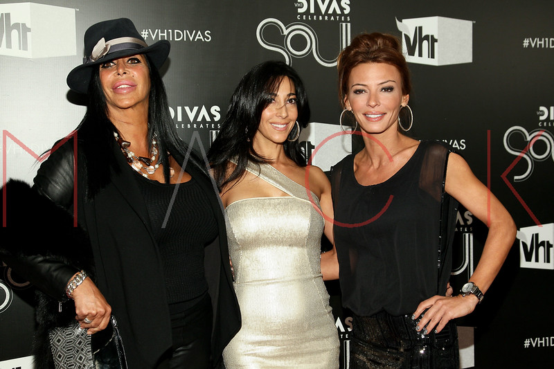 NEW YORK, NY - DECEMBER 18:  Angela 'Big Ang' Raiola, Carla Facciolo and Drita D'avanzo attend 2011 VH1 Divas Celebrates Soul at the Hammerstein Ballroom on December 18, 2011 in New York City.  (Photo by Steve Mack/S.D. Mack Pictures)