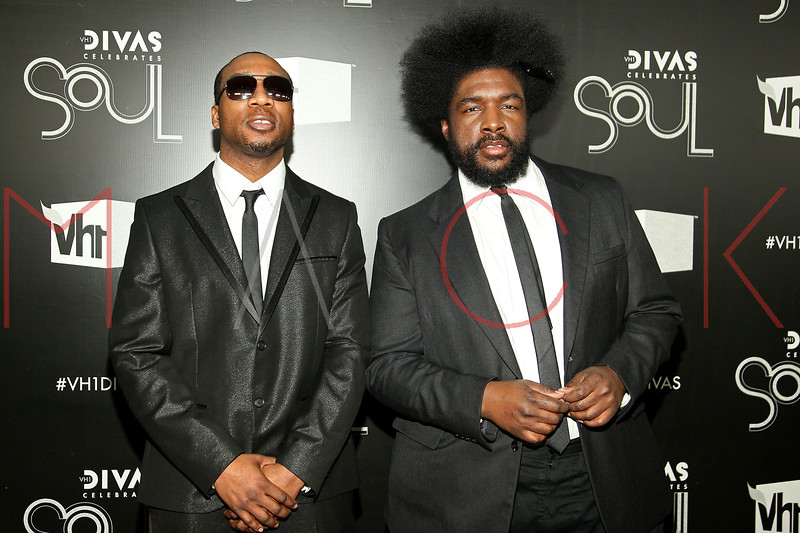 NEW YORK, NY - DECEMBER 18:  Frank E and Questlove attend 2011 VH1 Divas Celebrates Soul at the Hammerstein Ballroom on December 18, 2011 in New York City.  (Photo by Steve Mack/S.D. Mack Pictures)
