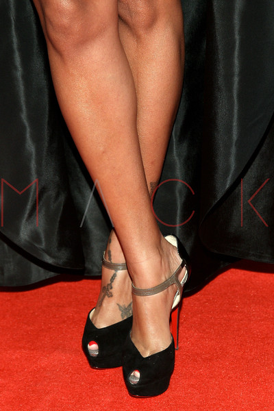 NEW YORK, NY - DECEMBER 18:  La La Anthony (footwear detail) attends 2011 VH1 Divas Celebrates Soul at the Hammerstein Ballroom on December 18, 2011 in New York City.  (Photo by Steve Mack/S.D. Mack Pictures)