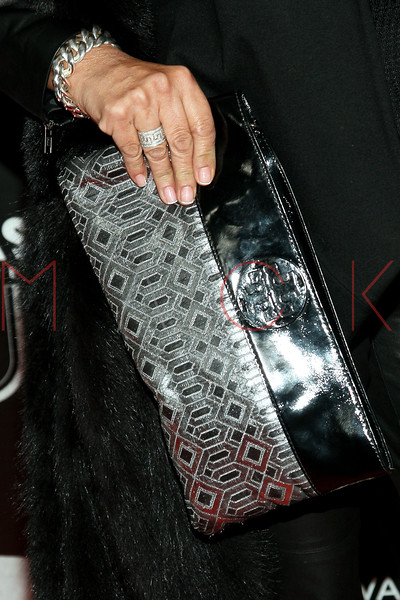 NEW YORK, NY - DECEMBER 18:  Angela 'Big Ang' Raiola (purse detail) attends 2011 VH1 Divas Celebrates Soul at the Hammerstein Ballroom on December 18, 2011 in New York City.  (Photo by Steve Mack/S.D. Mack Pictures)