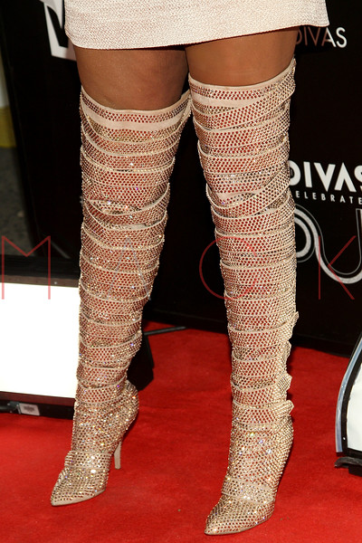 NEW YORK, NY - DECEMBER 18:  Jennifer Hudson (footwear detail) attends 2011 VH1 Divas Celebrates Soul at the Hammerstein Ballroom on December 18, 2011 in New York City.  (Photo by Steve Mack/S.D. Mack Pictures)