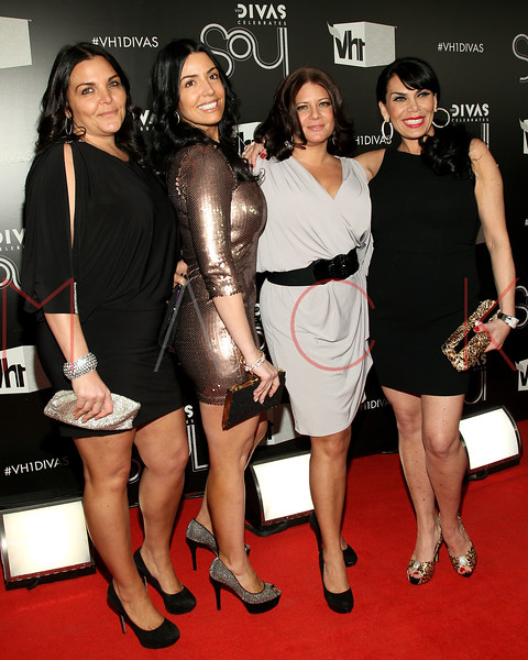 NEW YORK, NY - DECEMBER 18:  Jennifer Graziano, Ramona Rizzo, Karen Gravano and Renee Graziano attend 2011 VH1 Divas Celebrates Soul at the Hammerstein Ballroom on December 18, 2011 in New York City.  (Photo by Steve Mack/S.D. Mack Pictures)
