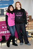 NEW YORK, NY - DECEMBER 13:  Karina Smirnoff and Lauren Bristow, Lady Foot Locker Brand Director attend the BEARPAW boots charity event at Lady Foot Locker on December 13, 2011 in New York City.  (Photo by Steve Mack/S.D. Mack Pictures)