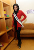 NEW YORK, NY - DECEMBER 13:  Miss Universe 2011 Leila Lopes attends CitySights NY's 2nd annual Holiday Joy Toy drive at The Naomi Berrie Diabetes Center on December 13, 2011 in New York City.  (Photo by Steve Mack/S.D. Mack Pictures)