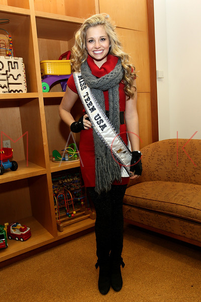 NEW YORK, NY - DECEMBER 13:  Miss Teen USA 2011 Danielle Doty attends CitySights NY's 2nd annual Holiday Joy Toy drive at The Naomi Berrie Diabetes Center on December 13, 2011 in New York City.  (Photo by Steve Mack/S.D. Mack Pictures)