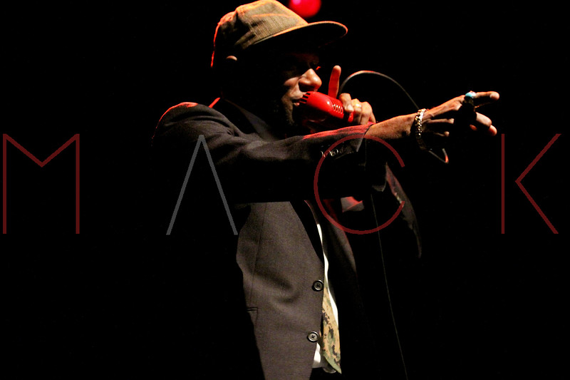 NEW YORK, NY - DECEMBER 03:  Mos Def performs at Best Buy Theater on December 3, 2011 in New York City.  (Photo by Steve Mack/S.D. Mack Pictures)