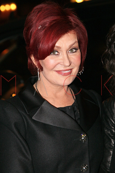 "NEW YORK, NY - DECEMBER 13:  Sharon Osbourne attends ""Hugh Jackman Back On Broadway"" at The Broadhurst Theatre on December 13, 2011 in New York City.  (Photo by Steve Mack/S.D. Mack Pictures)"