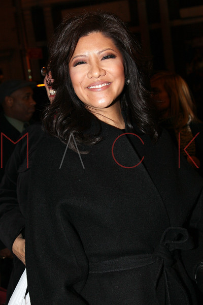 """NEW YORK, NY - DECEMBER 13:  TV personality Julie Chen attends """"Hugh Jackman Back On Broadway"""" at The Broadhurst Theatre on December 13, 2011 in New York City.  (Photo by Steve Mack/S.D. Mack Pictures)"""