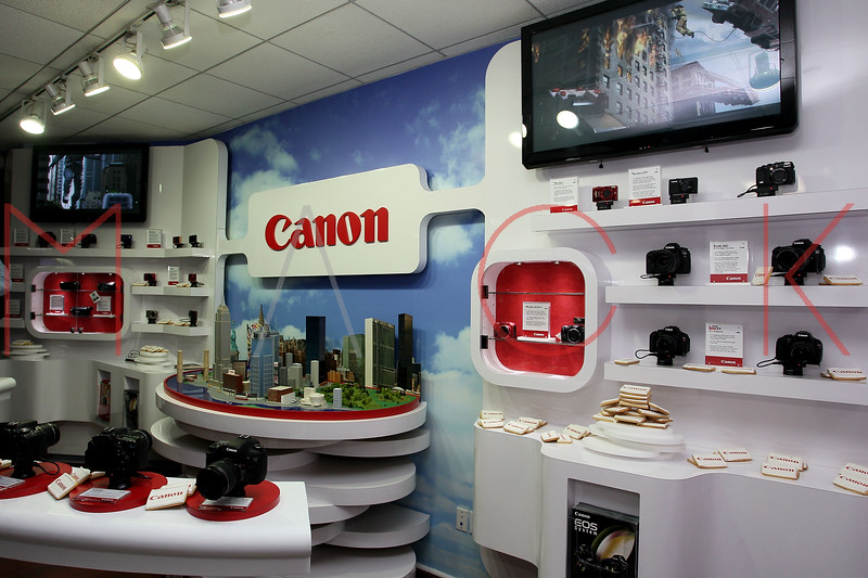 NEW YORK, NY - DECEMBER 05:  Atmosphere at the launch of the Canon Boutique at Willoughby's on December 5, 2011 in New York City.  (Photo by Steve Mack/S.D. Mack Pictures)