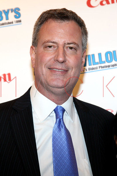 NEW YORK, NY - DECEMBER 05:  New York City Public Advocate Bill de Blasio attends the launch of the Canon Boutique at Willoughby's on December 5, 2011 in New York City.  (Photo by Steve Mack/S.D. Mack Pictures)