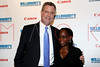 NEW YORK, NY - DECEMBER 05:  New York City Public Advocate Bill de Blasio and his wife Chirlane attend the launch of the Canon Boutique at Willoughby's on December 5, 2011 in New York City.  (Photo by Steve Mack/S.D. Mack Pictures)