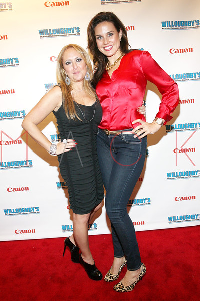 NEW YORK, NY - DECEMBER 05:  Vivian Douek and Ana Berry attend the launch of the Canon Boutique at Willoughby's on December 5, 2011 in New York City.  (Photo by Steve Mack/S.D. Mack Pictures)