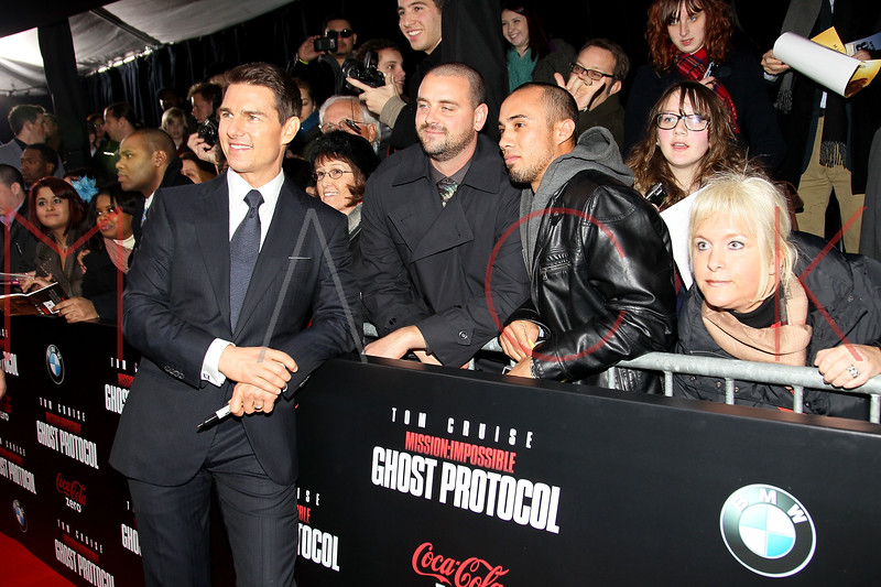 NEW YORK, NY - DECEMBER 19:  Tom Cruise attends the 'Mission: Impossible - Ghost Protocol' U.S. premiere at the Ziegfeld Theatre on December 19, 2011 in New York City.  (Photo by Steve Mack/S.D. Mack Pictures)