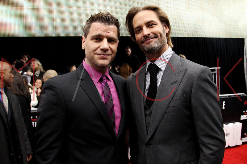 NEW YORK, NY - DECEMBER 19:  Tom Murro and Josh Holloway attend the 'Mission: Impossible - Ghost Protocol' U.S. premiere at the Ziegfeld Theatre on December 19, 2011 in New York City.  (Photo by Steve Mack/S.D. Mack Pictures)