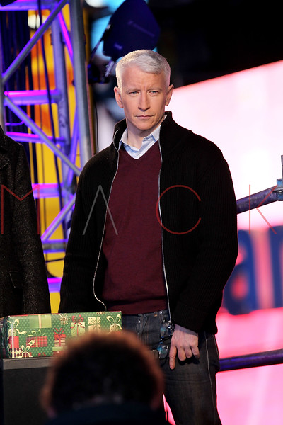 NEW YORK, NY - DECEMBER 31:  Anderson Cooper attends New Year's Eve 2012 in Times Square on December 31, 2011 in New York City.  (Photo by Steve Mack/S.D. Mack Pictures)