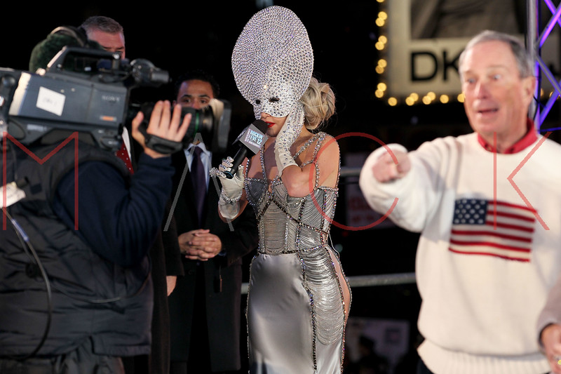 NEW YORK, NY - DECEMBER 31:  Lady Gaga attends New Year's Eve 2012 in Times Square on December 31, 2011 in New York City.  (Photo by Steve Mack/S.D. Mack Pictures)