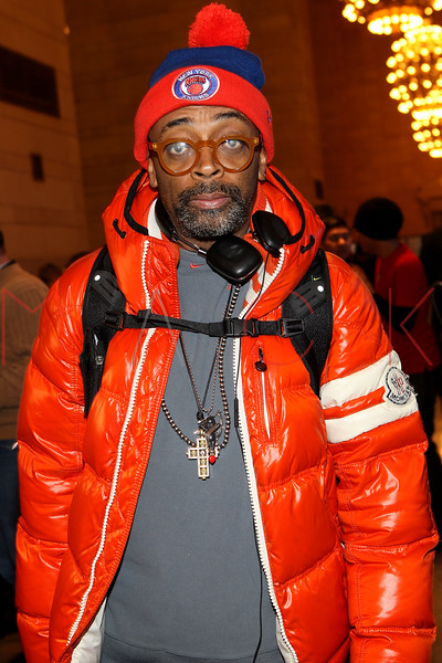 NEW YORK, NY - DECEMBER 09:  Spike Lee attends the grand opening of the Apple Store Grand Central on December 9, 2011 in New York City.  (Photo by Steve Mack/S.D. Mack Pictures)
