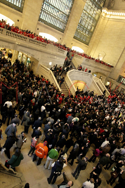 NEW YORK, NY - DECEMBER 09:  A general view during the grand opening of the Apple Store Grand Central on December 9, 2011 in New York City.  (Photo by Steve Mack/S.D. Mack Pictures)