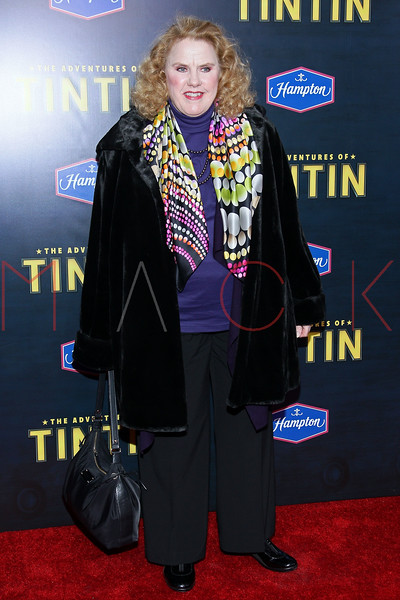 "NEW YORK, NY - DECEMBER 11:  Celia Weston attends the ""The Adventures of TinTin"" New York premiere at the Ziegfeld Theatre on December 11, 2011 in New York City.  (Photo by Steve Mack/S.D. Mack Pictures)"