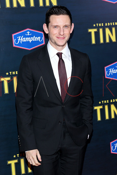 """NEW YORK, NY - DECEMBER 11:  Jamie Bell attends the """"The Adventures of TinTin"""" New York premiere at the Ziegfeld Theatre on December 11, 2011 in New York City.  (Photo by Steve Mack/S.D. Mack Pictures)"""