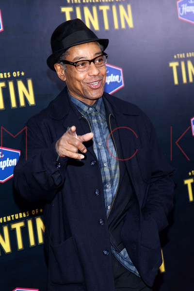 """NEW YORK, NY - DECEMBER 11:  Giancarlo Esposito attends the """"The Adventures of TinTin"""" New York premiere at the Ziegfeld Theatre on December 11, 2011 in New York City.  (Photo by Steve Mack/S.D. Mack Pictures)"""