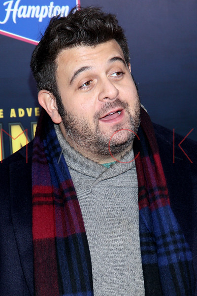 """NEW YORK, NY - DECEMBER 11:  Adam Richman attends the """"The Adventures of TinTin"""" New York premiere at the Ziegfeld Theatre on December 11, 2011 in New York City.  (Photo by Steve Mack/S.D. Mack Pictures)"""