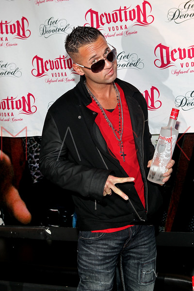 NEW YORK, NY - DECEMBER 17:  Television personality 'The Situation' Michael Sorrentino attends the Devotion Vodka launch party at Culture Club on December 17, 2011 in New York City.  (Photo by Steve Mack/S.D. Mack Pictures)