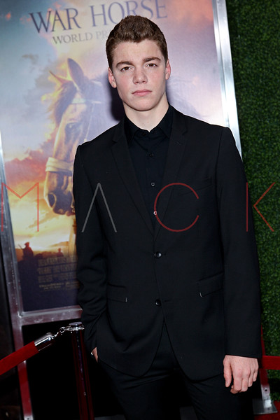 "NEW YORK, NY - DECEMBER 04:  Gabriel Basso attends the ""War Horse"" world premiere at Avery Fisher Hall at Lincoln Center for the Performing Arts on December 4, 2011 in New York City.  (Photo by Steve Mack/S.D. Mack Pictures)"