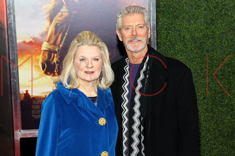 "NEW YORK, NY - DECEMBER 04:  Stephen Lang (R) and Kristina Watson attends the ""War Horse"" world premiere at Avery Fisher Hall at Lincoln Center for the Performing Arts on December 4, 2011 in New York City.  (Photo by Steve Mack/S.D. Mack Pictures)"