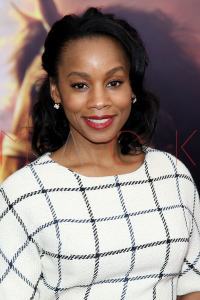 """NEW YORK, NY - DECEMBER 04:  Anika Noni Rose attends the """"War Horse"""" world premiere at Avery Fisher Hall at Lincoln Center for the Performing Arts on December 4, 2011 in New York City.  (Photo by Steve Mack/S.D. Mack Pictures)"""