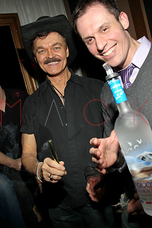 "NEW YORK, NY - FEBRUARY 12:  The ""Bidendity Crisis"" official cast wrap party at Foundation Lounge on February 12, 2011 in New York City."