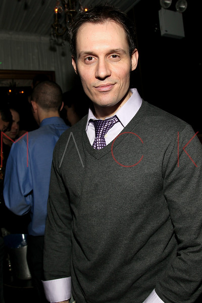 """NEW YORK, NY - FEBRUARY 12:  Keith Collins attends the """"Bidendity Crisis"""" official cast wrap party at Foundation Lounge on February 12, 2011 in New York City.  (Photo by Steve Mack/S.D. Mack Pictures) *** Local Caption *** Keith Collins"""