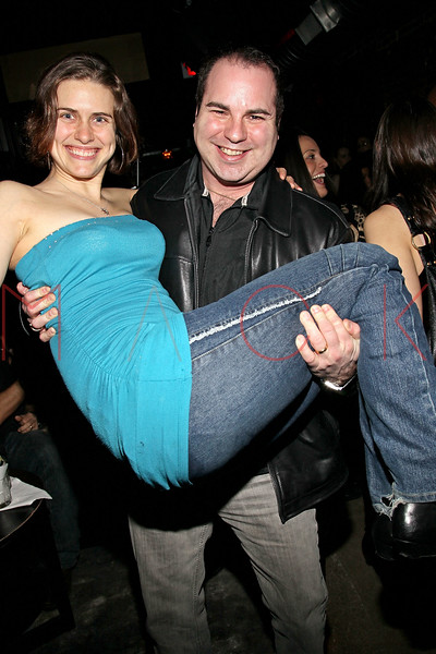 "NEW YORK, NY - FEBRUARY 12:  Candice Holdorf and Ken Del Vecchio attend the ""Bidendity Crisis"" official cast wrap party at Foundation Lounge on February 12, 2011 in New York City.  (Photo by Steve Mack/S.D. Mack Pictures) *** Local Caption *** Candice Holdorf; Ken Del Vecchio"