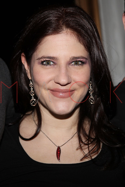 """NEW YORK, NY - FEBRUARY 12:  Elissa Goldstein attends the """"Bidendity Crisis"""" official cast wrap party at Foundation Lounge on February 12, 2011 in New York City.  (Photo by Steve Mack/S.D. Mack Pictures) *** Local Caption *** Alissa Goldstein"""