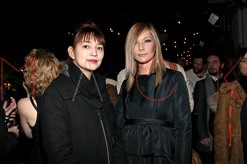 NEW YORK, NY - FEBRUARY 12:  Fashion Stylist and Editor Toyo Tsuchiya and designer Jules Kim attend the Bijules fine jewelry presentation during Mercedes-Benz Fashion Week Fall 2011 at the Gramercy Park Hotel on February 12, 2011 in New York City.  (Photo by Steve Mack/S.D. Mack Pictures) *** Local Caption *** Toyo Tsuchiya; Jules Kim